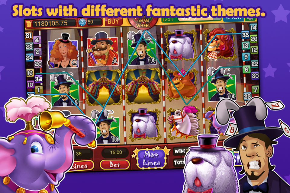 Screenshot DreamSlots